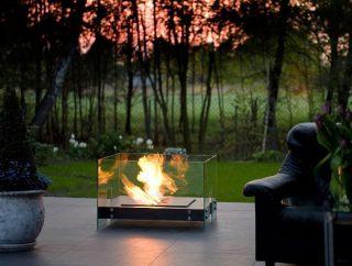 Jak dopasować biokominek na taras do aranżacji domu i ogrodu?